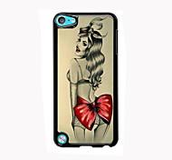 la conception en aluminium cas de fille sexy de haute qualité pour iPod touch 5