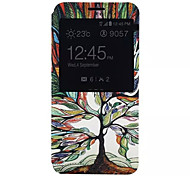 Tree Of Life Pattern PU Leather Phone Case For Galaxy Note 5