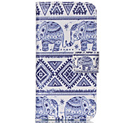 Elephant PU Leather Full Body Case with Screen Protector And Stand for iPod Touch 5