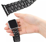 Luxury Metal Wearables Straps 42 mm Watch Band with Same Color Adapter for Apple Watch (Assorted Colors)