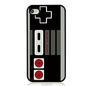 Retro Game Machine Leather Vein Pattern Hard Case for iPhone 4/4S