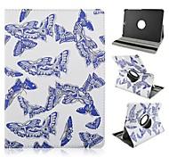bemalte Schwenkbügel Tablet-PC-Kasten für Galaxie-Vorsprung s2 9,7 t815 / Tab s2 8.0 T715