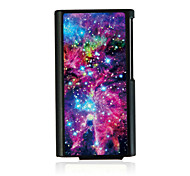 Bright Starry Sky Leather Vein Pattern Hard Case for iPod Nano 7