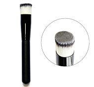 3 Colors Wood Handle Liquid Face Powder Foundation  Flattop Brushes Tool