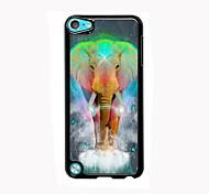 onirique design en aluminium d'éléphant cas de haute qualité pour iPod touch 5