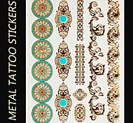 Tatuaggi adesivi - Serie gioielli/Serie totem - Brand New - Da donna/Da uomo/Adulto/Teen - 1 - Modello - di Carta - 145mm*200mm -