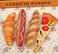 1pcs Simulation Hot Dog Bread Children Stationery Learning Ballpoint Pen
