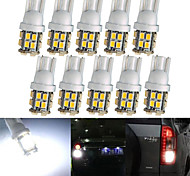 lorcoo ™ 10 x t10 20-SMD 1210 blanco llevó luces del coche bombilla de 194 168 2825 5w