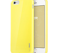 ESR® Yippee Colour Series Perfect Fit Ultra Thin Light Weight Soft TPU Bumper Case for iPhone 6- Yellow