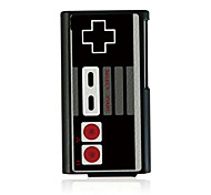 Retro Game Machine Leather Vein Pattern Hard Case for iPod Nano 7