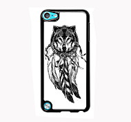 The Wolf and The Dream Catcher Design Aluminum High Quality Case for iPod Touch 5
