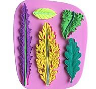 листья листья в форме помады торт шоколадный силиконовые формы, формы для выпечки украшения инструменты