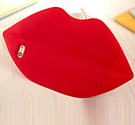 The New Silicone Protective Cover Stereo Big Lips Sexy Lips for iPhone 6 Plus(Assorted Colors)