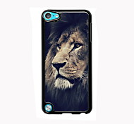 The Sad Lion Design Aluminum High Quality Case for iPod Touch 5