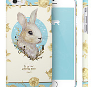 ESR® Illustrators Series Cute Cartoon Rabbit Bunny Hard Back Cover for iPhone 6 (Miss Alice Bunny)