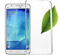 Lenuo Nature TPU Case  Ultra Thin Transparent Soft Case Cover 0.6mm S Line Clear For Samsung Galaxy J5(j5008)