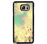 You Are The Best Thing Design Slim Metal Back Case for Samsung Galaxy Note 3/Note 4/Note 5/Note 5 edge