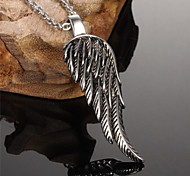 ailaicity®Stainless Steel Wings Man Necklace