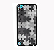 Puzzle Design Aluminum High Quality Case for iPod Touch 5