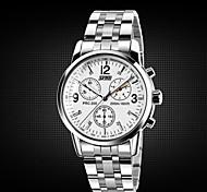 Men's Watches Genuine  SKMEI  Men's Fashion Waterproof Commercial Steel Tape Watch