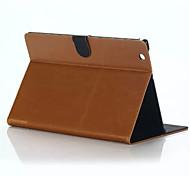 couvercle rabattable pliage cheval fou coque de protection simples pu tablette informatique pour Sony Tablet couleurs assorties