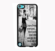 Your Past Design Aluminum High Quality Case for iPod Touch 5