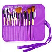 12 Makeup Brushes Set Nylon Professional / Travel / Eco-friendly Wood Face / Eye Others