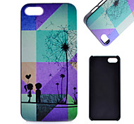 Dandelion Pattern PC Material Cell Phone Case for iPhone 5C
