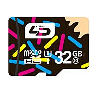 32GB UHS-I U1 / Class 10 MicroSD/MicroSDHC/MicroSDXC/TFMax Read Speed80 (MB/S)Max Write Speed10 (MB/S)
