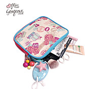 MISS GORGEOUS® Women Makeup Bag Fashion Travel Zipper Makeup Cosmetic Handbags