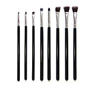 8pcs/set Makeup Brushes Powder Foundation Eyeshadow Eyeliner Lip Brush Set