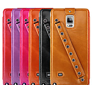 UWEI Oil Wax Skin Case Sports Section Sports Section Style for Samsung Galaxy Note