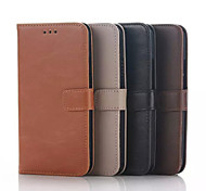 Flip Cover Wallet Case Card Slot Stand Crazy horse Simple PU PC Mobile Phone Shell for Nokia 930 Assorted Colors