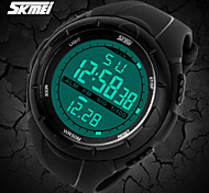SKMEI Men and Women's Fashion Electronics Luminous Multi-function Sports Watch Rubber Band (more colors)