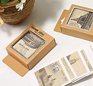 Orten der Welt kleine Postkarten-Set (40 Stück)