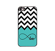 Love and The Wave Design Aluminum High Quality Case for iPhone 5/5S