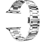Hotgo 38/42mm Light Ultrathin Classic Stainless Steel with Buckle Band/Strap for IWatch