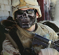 Halloween Kito Field Skeleton Warrior Half Face Terrorism Mask