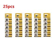 pilas de botón de litio de alta capacidad Tianqiu CR1616 3v (25pcs)