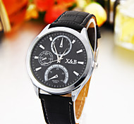 Man personality black fashion  quartz watch / watch