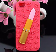 The New Crown Diamond Lipstick Silicone Mobile Phone Shell for iPhone 6(Assorted Colors)