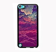coloré design en aluminium nuage cas de haute qualité pour iPod touch 5