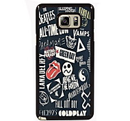 Special Pattern Design Slim Metal Back Case for Samsung Galaxy Note 3/Note 4/Note 5/Note 5 edge