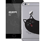 esr® mania Serie kratzfest perfekte Passform niedlichen Cartoon naughty cat klar unterstützen stark PC Kasten für iPhone 6