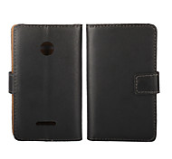 Genuine Leather Wallet Case for Microsoft Lumia 532