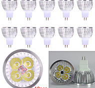 10pcs 4W MR16 450LM Light LED Spot Lights(12V)