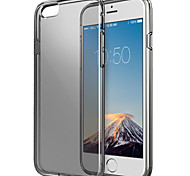 ESR® Essential Series Soft Clear Black Case Ultra Thin Gel Light Weight Shock-Absorbent Bumper Case for iPhone 6