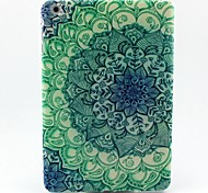 Pétalos de pavo real patrón caso maza blanda para Mini iPad 3, iPad Mini 2, mini ipad