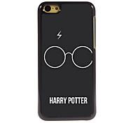 The Glasses Design Aluminum High Quality Case for iPhone 5C