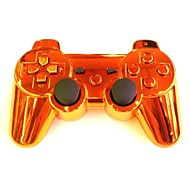 Plating Orange Wireless Joystick Bluetooth DualShock3 Sixaxis Rechargeable Controller gamepad for Sony PS3